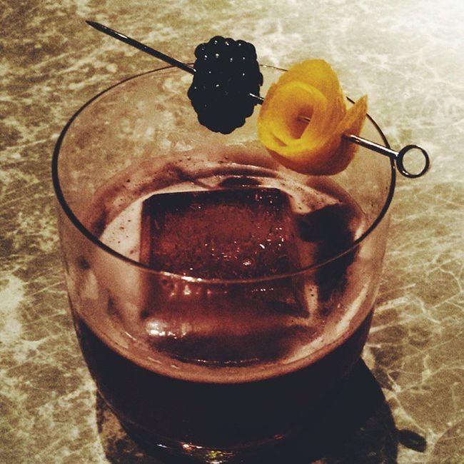 Blackberry on rye Cocktail Thewoodshl Thewoods HongKong Amazingcocktail