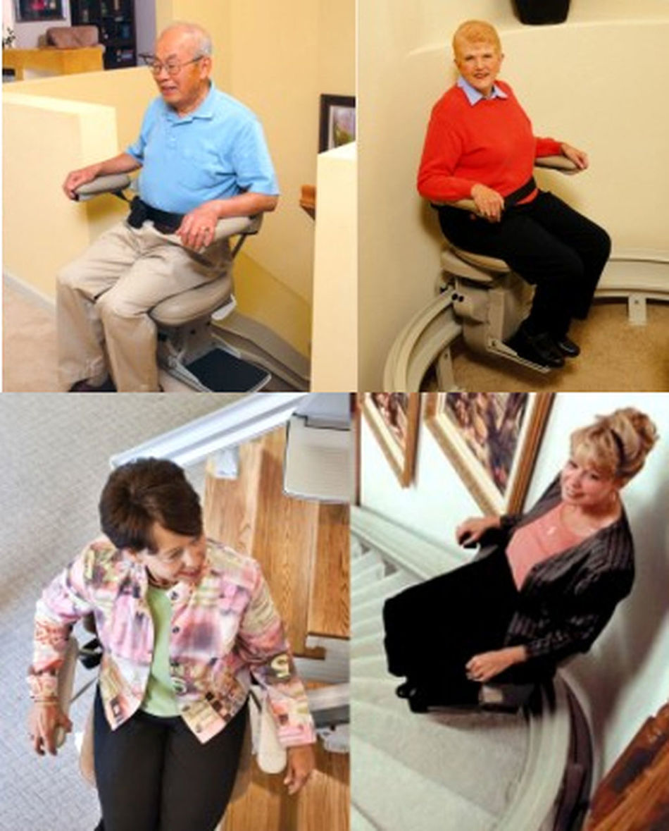 Country Home Elevator can install even the most complex curved stairway lifts with ease. http://bit.ly/1S5vjnm Bruno Stairlifts Curved Stair Lift Curved Stairlifts Curved Stairway Lifts Curved Stairways Stairlifts