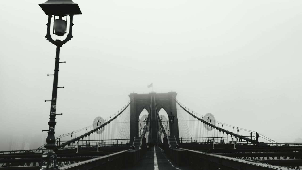 Bridge Brooklyn Bridge / New York City Fog Streetphotography Black And White Photography Taking Photos