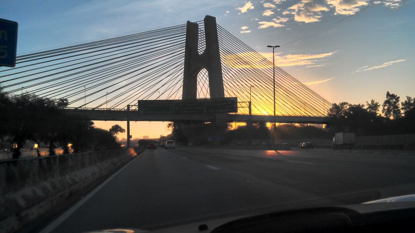 Estaiada, HighWay Tietê, Sao Paulo, Brasil Bridges