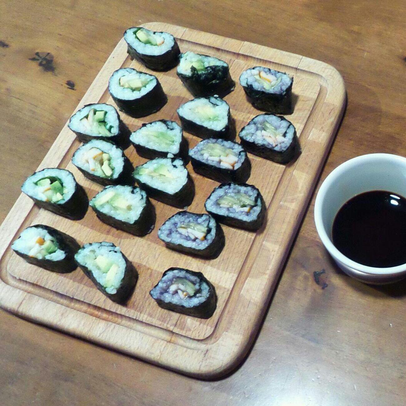 Food Porn Maki-sushis faits maison