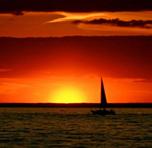 Leica Lens Water Sea Sunset Waterfront Nautical Vessel Horizon Over Water Water Sea Sunset Waterfront Nautical Vessel Horizon Over Water Scenics Silhouette Transportation Tranquil Scene Sailboat Boat Tranquility Calm Idyllic Beauty In Nature Orange Color Dusk