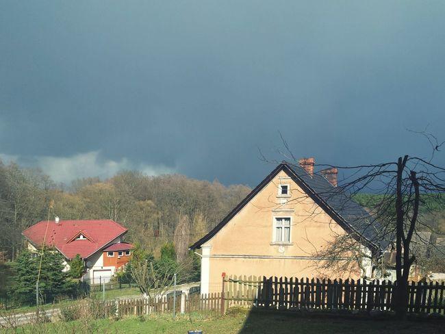 Vilage Village Life Clouds Spring Architecture Photo Building Vilage House EyeEm The Best Shots Nature