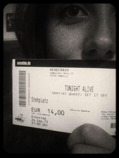 Concert Tickets Set It Off (band) Tonight Alive So Stoked <3 :')