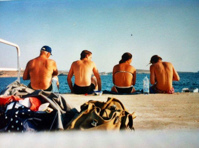 Sea Vintage People The Tourist