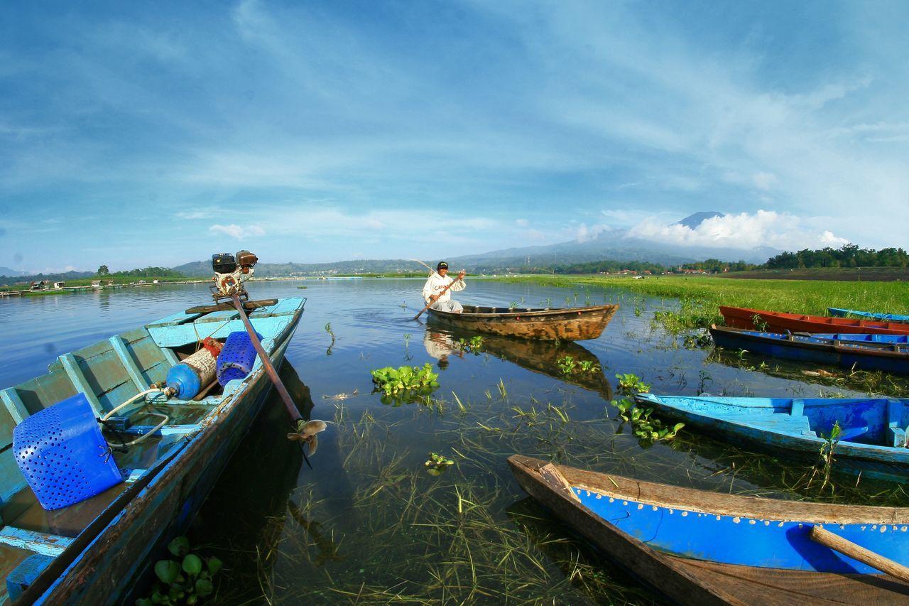 Floating Wadukdarma INDONESIA Kuningan Kuninganjabar