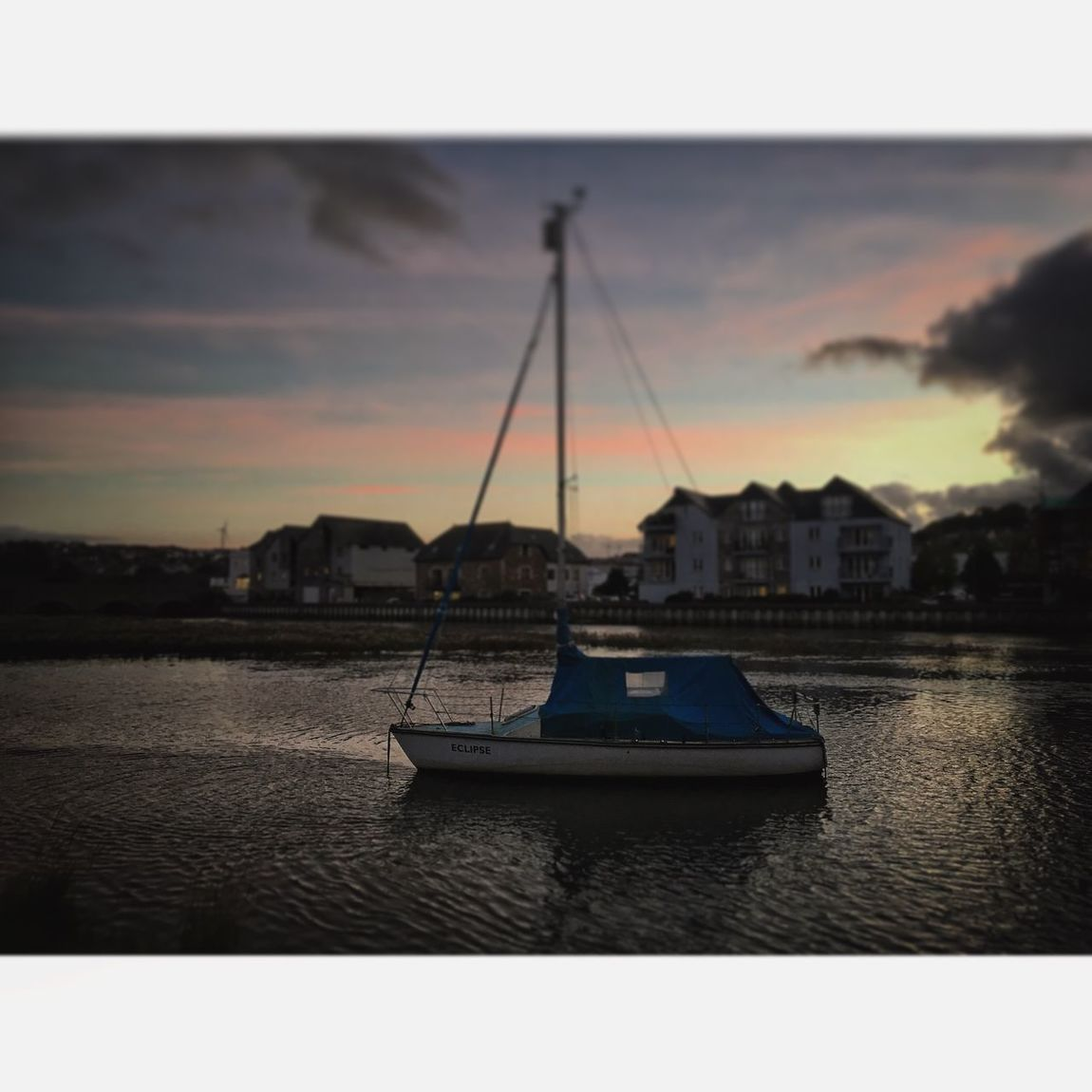 Nautical Vessel Water Transportation Mode Of Transport Architecture Sky Built Structure Sea Harbor City Building Exterior No People Outdoors Sunset Wadebridge Cornwall Beautiful Yacht Day Sailboat Nature