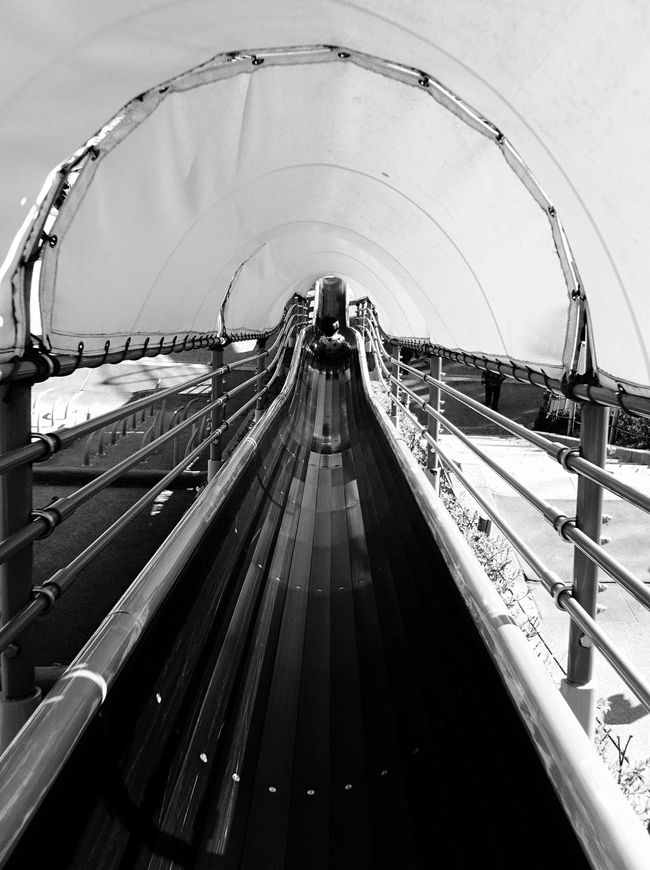 Slide Kids Bw_collection Black And White IPhoneography