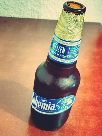 Close-up Indoors  Beer Beer Time Cerveza Bohemia Drink Alcoholic Drink