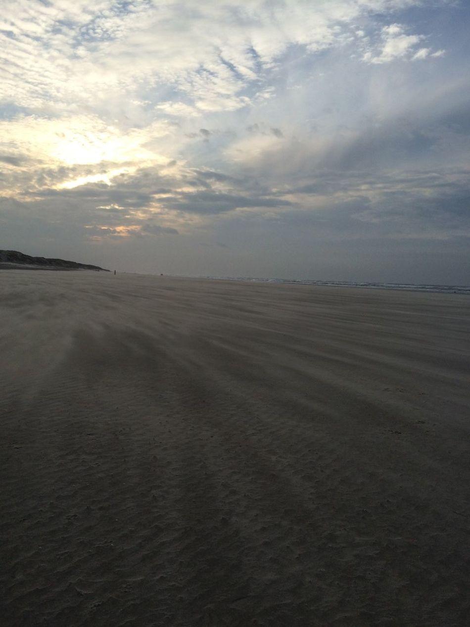 Windyweather Sky Texelstrand