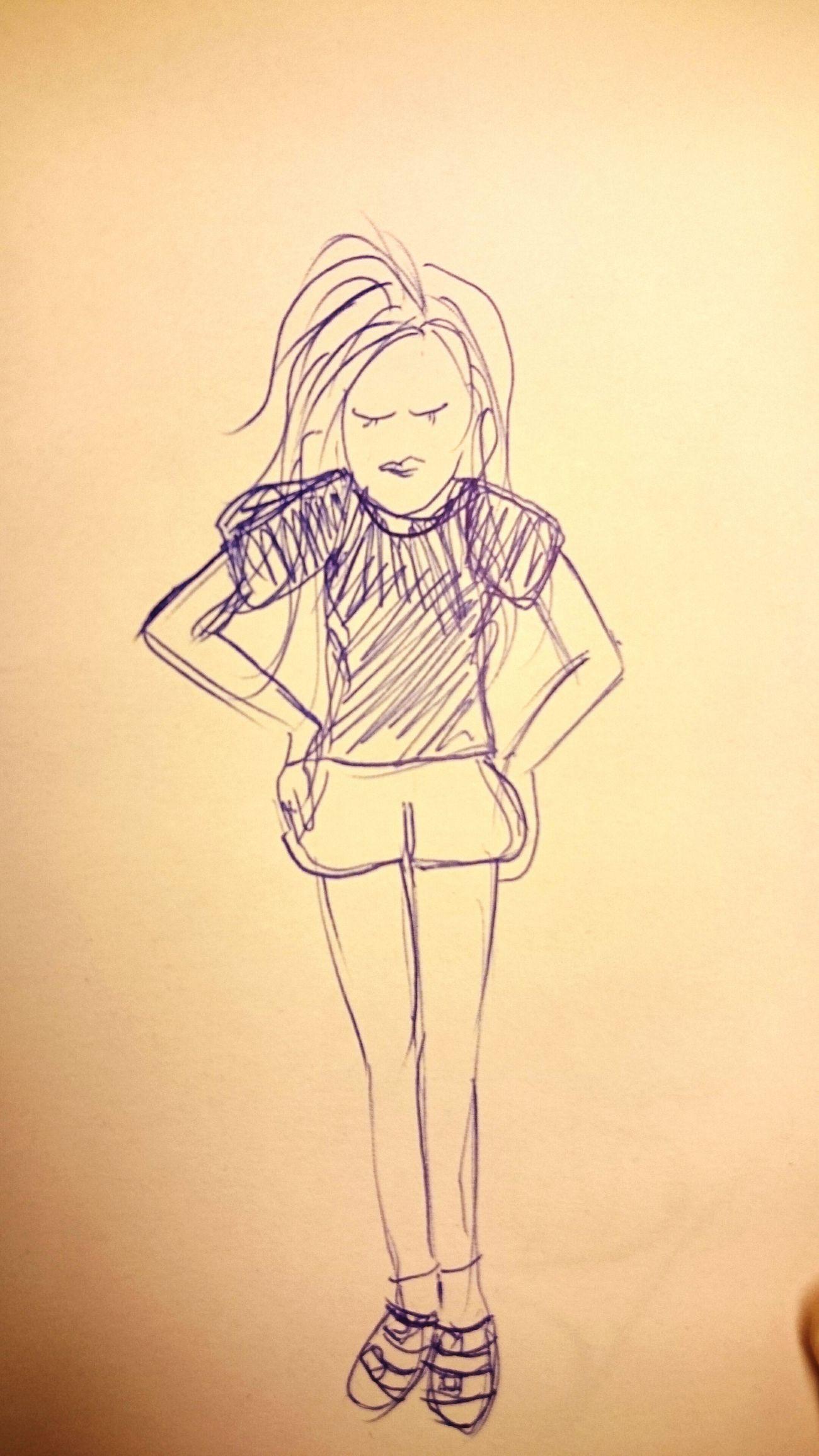 女人真難搞 半夜亂畫 Drawing Me?