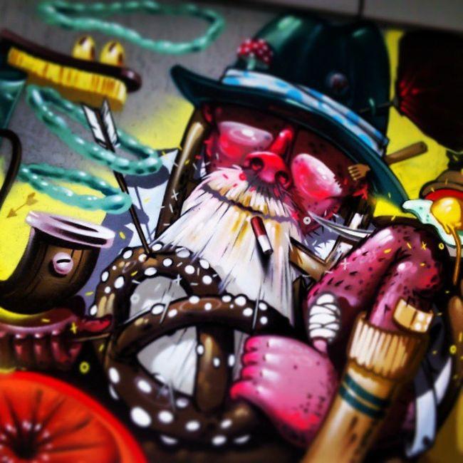 Grafitti Art Munich WestEnd Schwanthalerhöhe Streetart Greatwork Grafitti