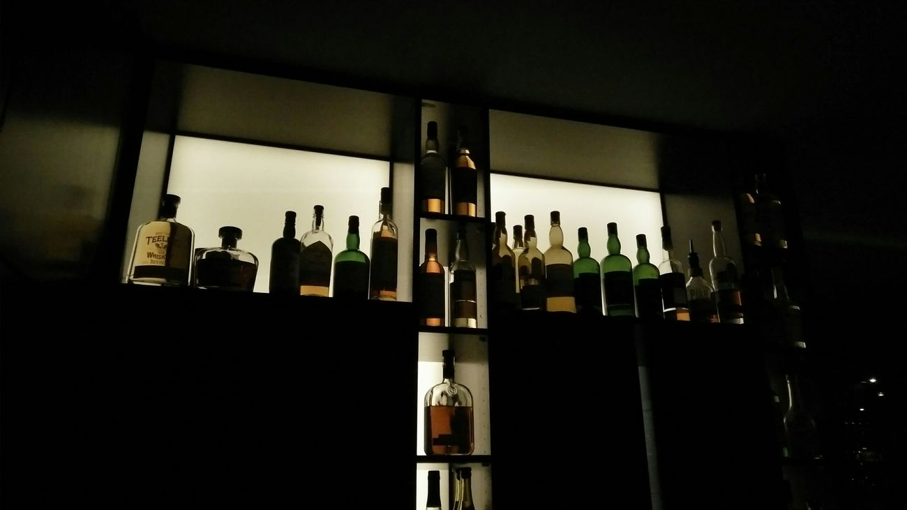The Bar. · Hamburg Germany 040 Hh Going Out Night Out Drinks Good Drinks Stocked Stocked Up Bottles Alcohol Lighting Shades Silhouette Indoors  Darkness Night Photography