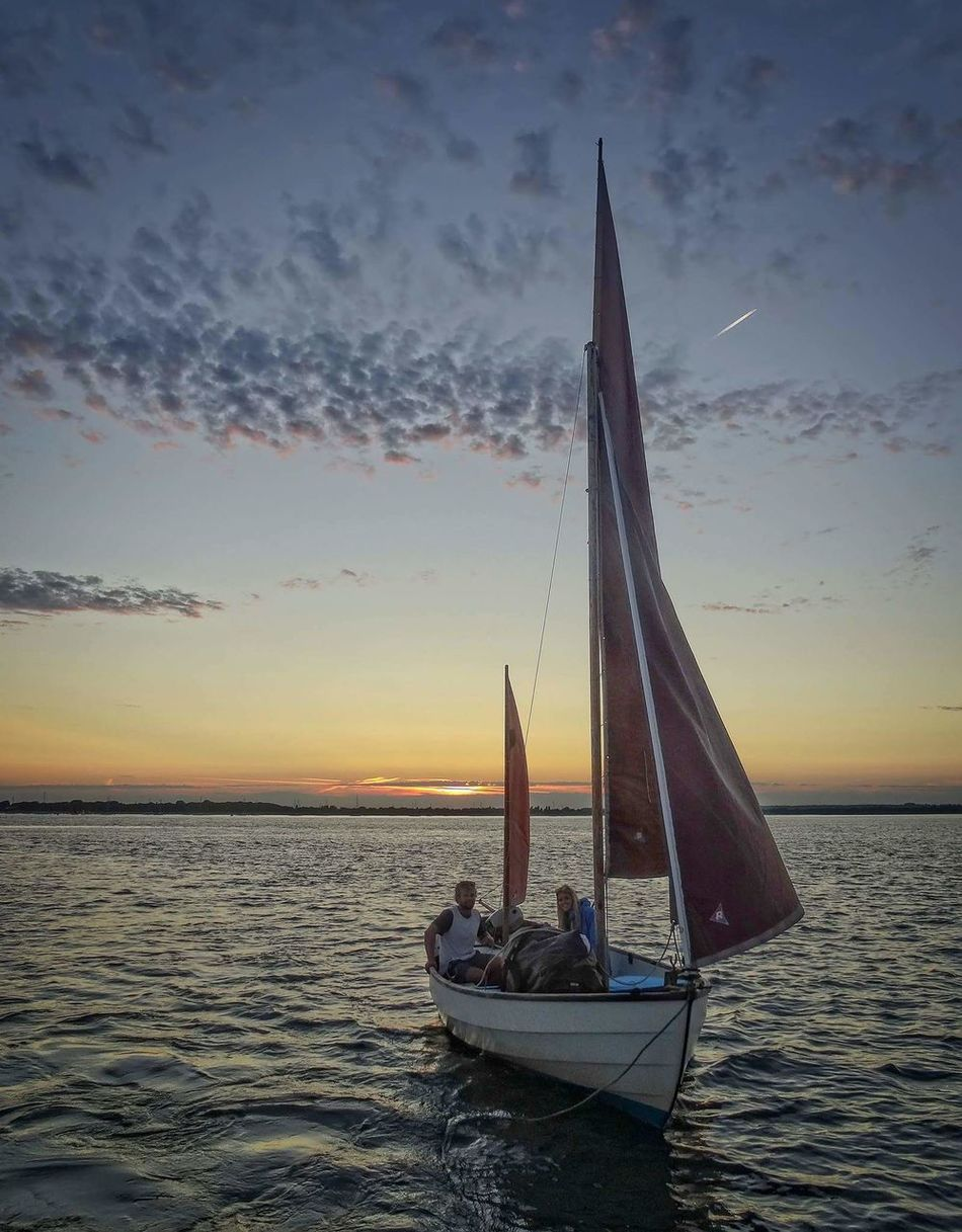 On water Boat Yachting Yacht At Sea Sailing Sailing Boat Travel Water Chichester Harbour Coming Into Harbour