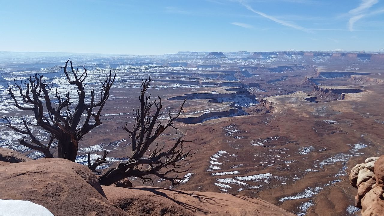 Distant views from Green River Lookout AmercianSouthwest Beauty In Nature Canyonlands National Park, Utah Joe Wanderer Moab, Utah Outdoors Remote Scenics Sky Sunny Tourism Tranquil Scene Utah