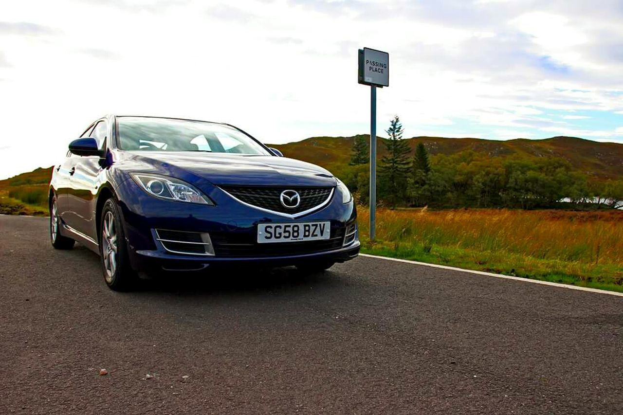The Drive Mazda Mazda6 Roadtrip Scotland Inverness Drive Driving Blue Car Transportation Outdoors Finding New Frontiers