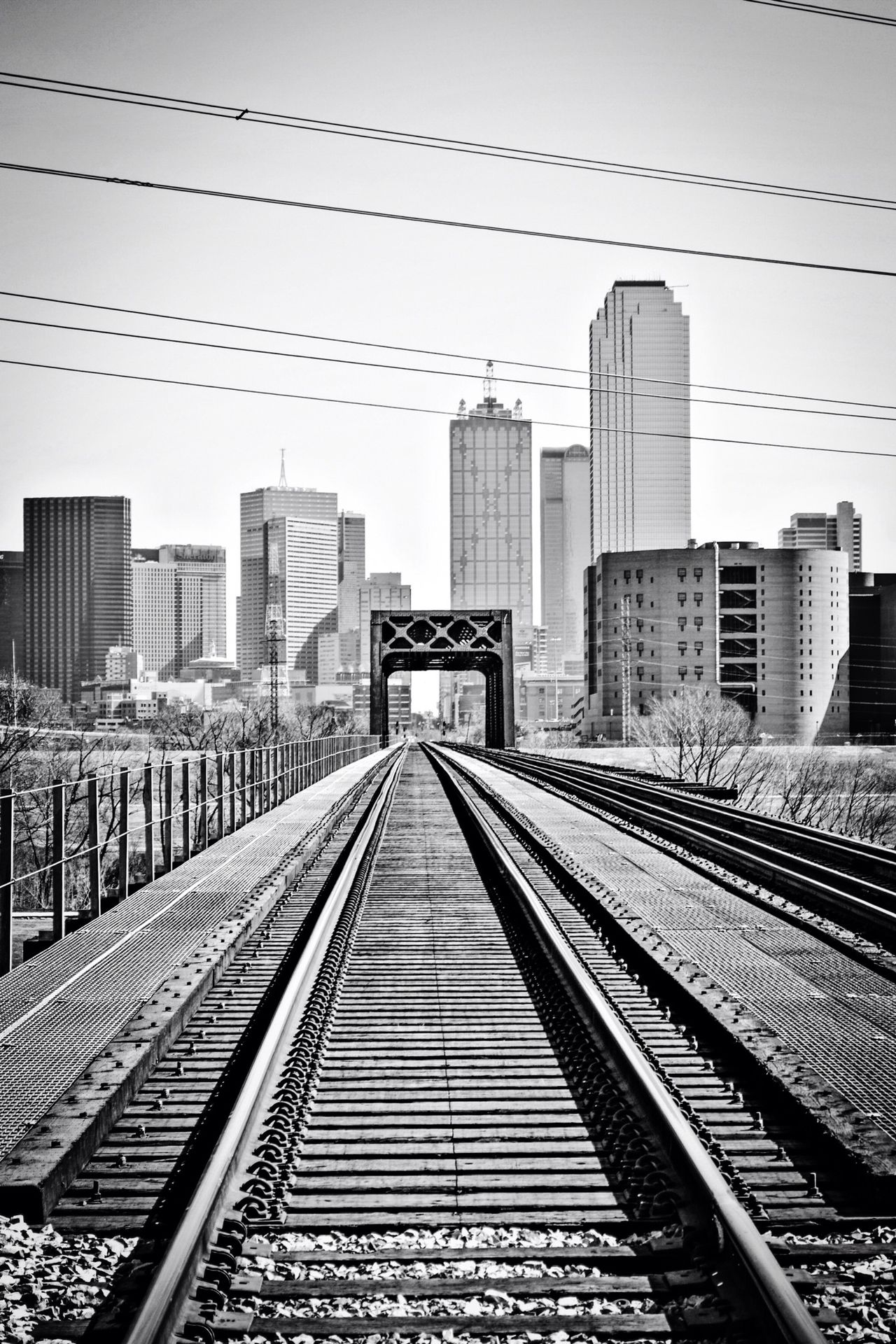 Downtown Dallas Blackandwhite Photography Photographer