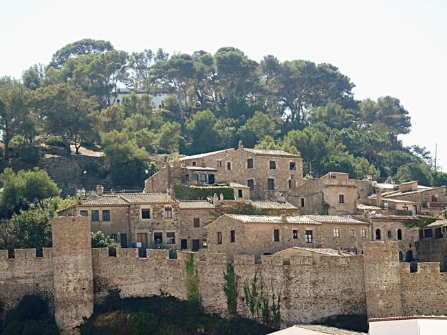 My Favorite Place Tree Architecture Built Structure Building Exterior House Town Day Growth Outdoors Sky History No People The Past Green Color Tossa De Mar Gironamenamora Girona SPAIN