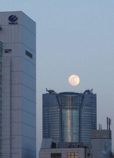 中秋の名月 Harvestmoon Cityscape Streetphoto Roppongihills from Omotesando Full Moon