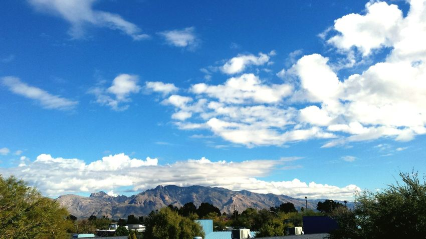 Sky And Clouds Sky Landscape Enjoying Life Mountains Mountain View Blue Sky View From My School