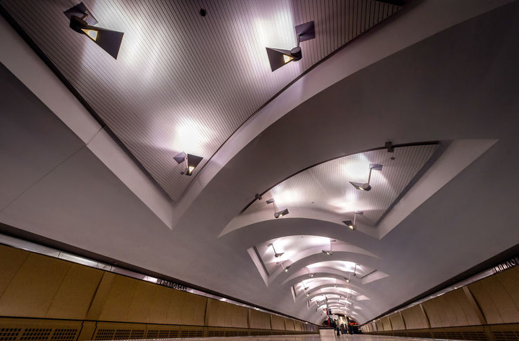 Russia, Moscow, metro, lighting Architecture Built Structure Ceiling Illuminated Indoors  Lighting Equipment Modern No People Russia, Moscow, Metro, Lighting Subway Station