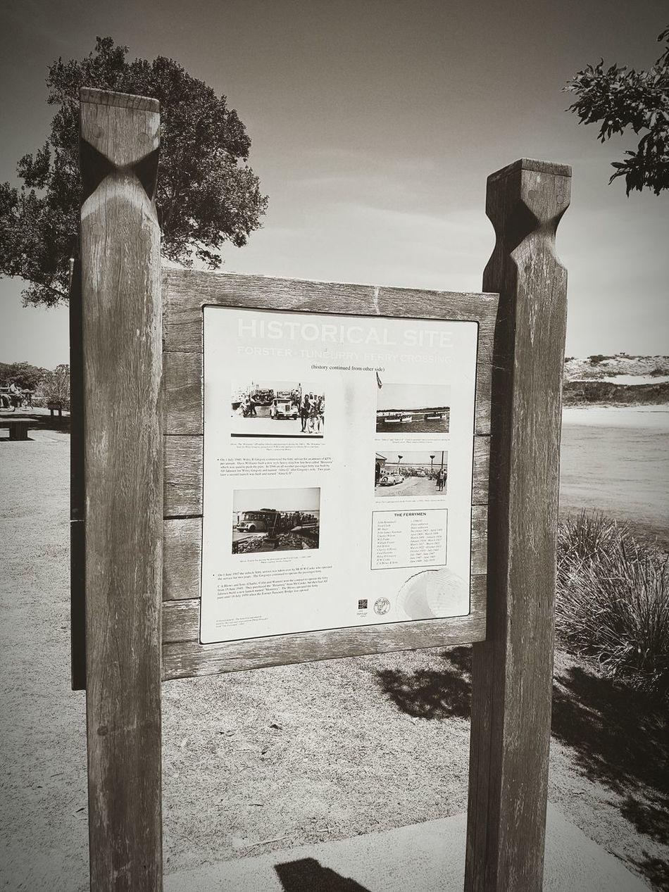 Forster Nsw Historicsite Vintage Sign