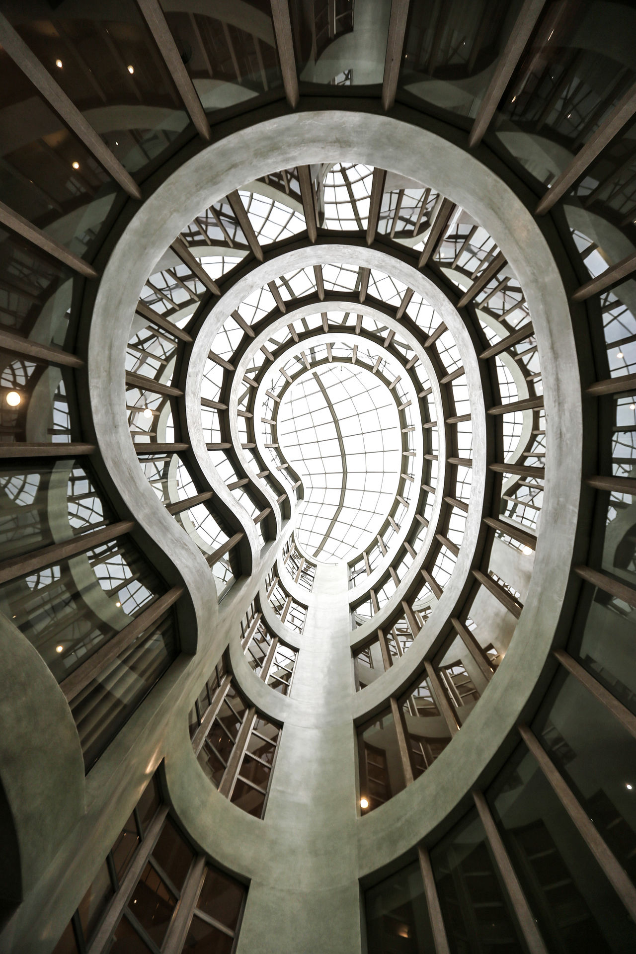 Architecture Pattern Built Structure Indoors  No People Low Angle View Staircase Concentric Day Lookingup Travel Destinations Eye4photography  EyeEm Best Shots Architecture