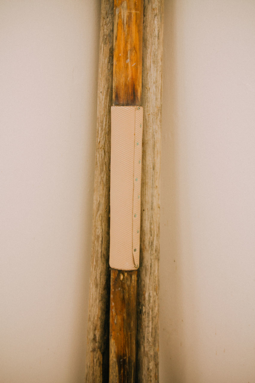 wall - building feature, wood - material, indoors, no people, close-up, hinge, day