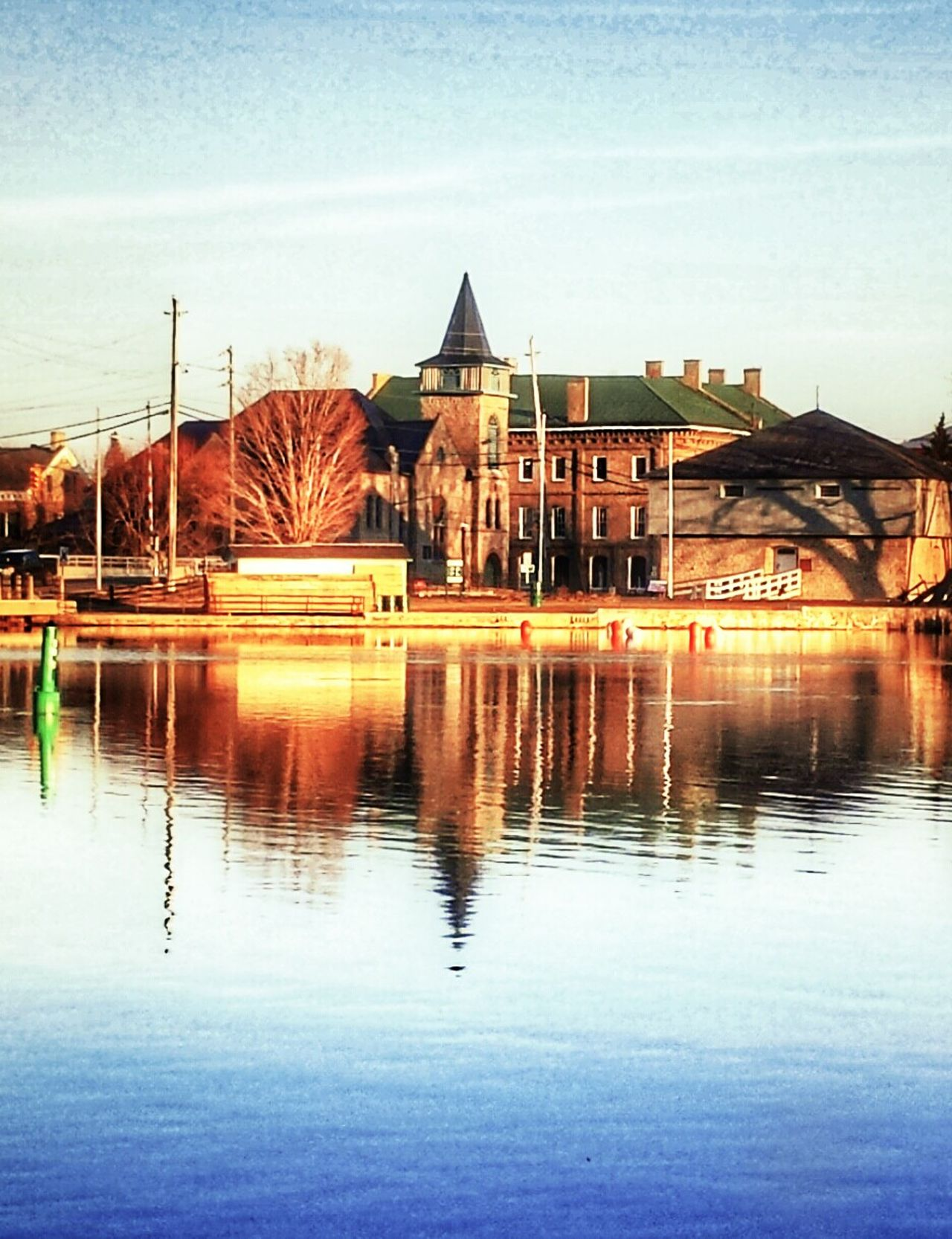 Merrickville. Reflection Architecture Built Structure Building Exterior Water Sky No People Outdoors Cloud - Sky Day Nature Fresh On Eyeem