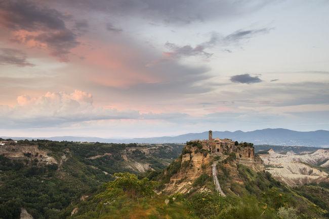 Civita Di Bagnoregio Ghost Town Landscape Nikon D810 Paesaggio Sunset Tramonto Umbria, Italy First Eyeem Photo