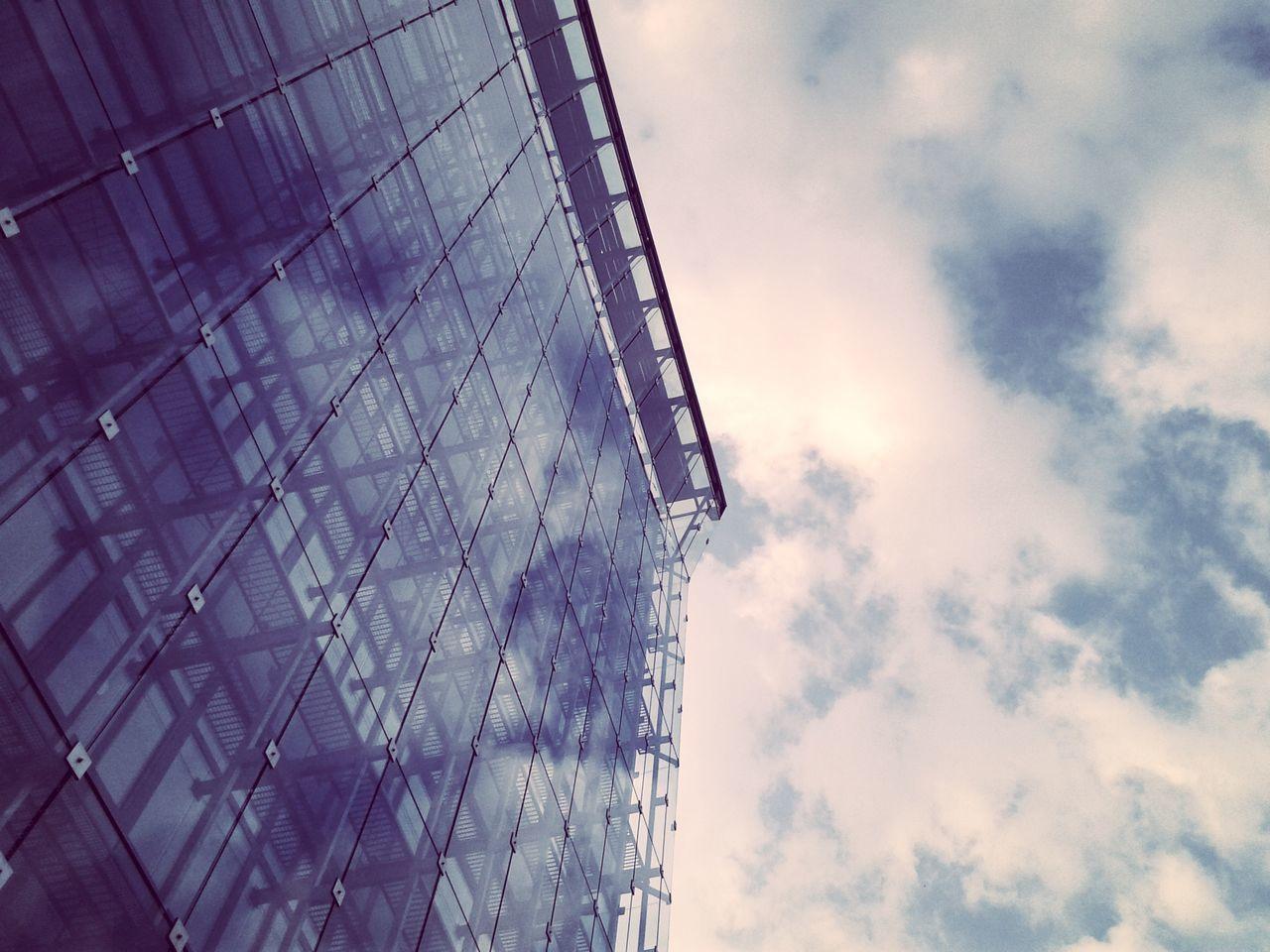 Architecture Reflection Saturday Sun