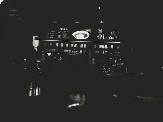 """""""This My Place Coffeshop Indoors  Communication Night Farisphotograph"""