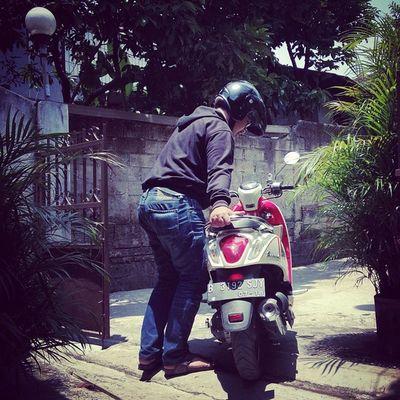 Ready to ride siUpyyy *MembakarJakartaah* BitzArt Biker