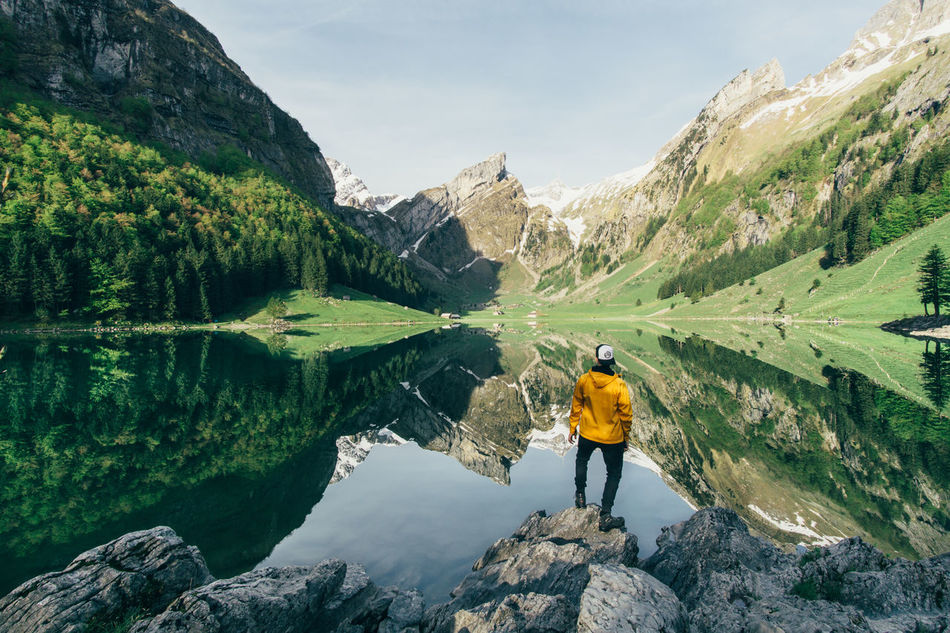 Beautiful stock photos of sonnenaufgang, 30-34 Years, Adventure, Appenzell, Beauty In Nature