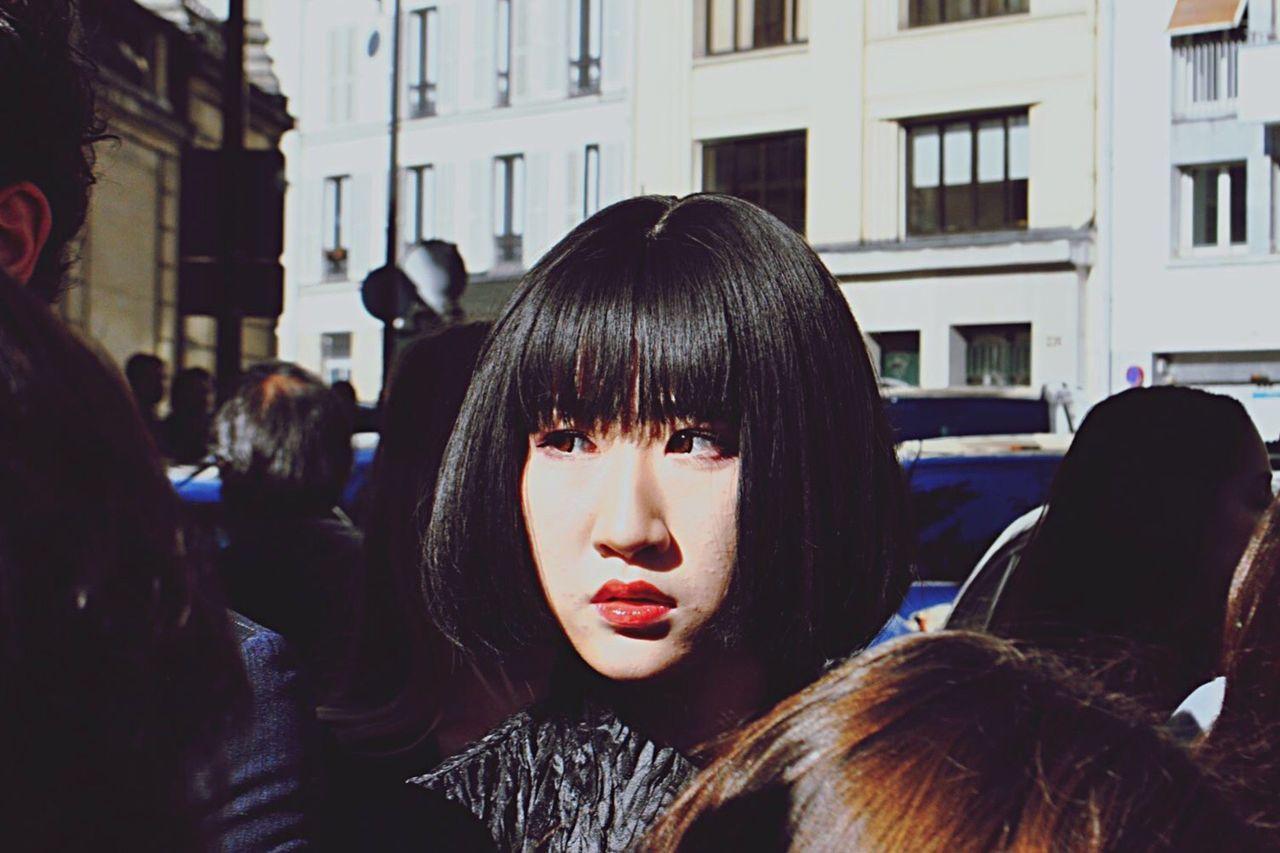 Woman Portrait Woman Portrait Streetphotography Street Photography Fashionweek Fashion Mode Headshot