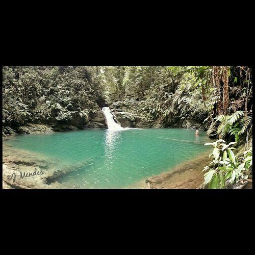 Rio Seco Waterfall. Islandlife Travel Taveling Caribbean Fun Love Crystal Clear Water