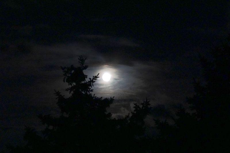 Moonlight Clouds Creepy