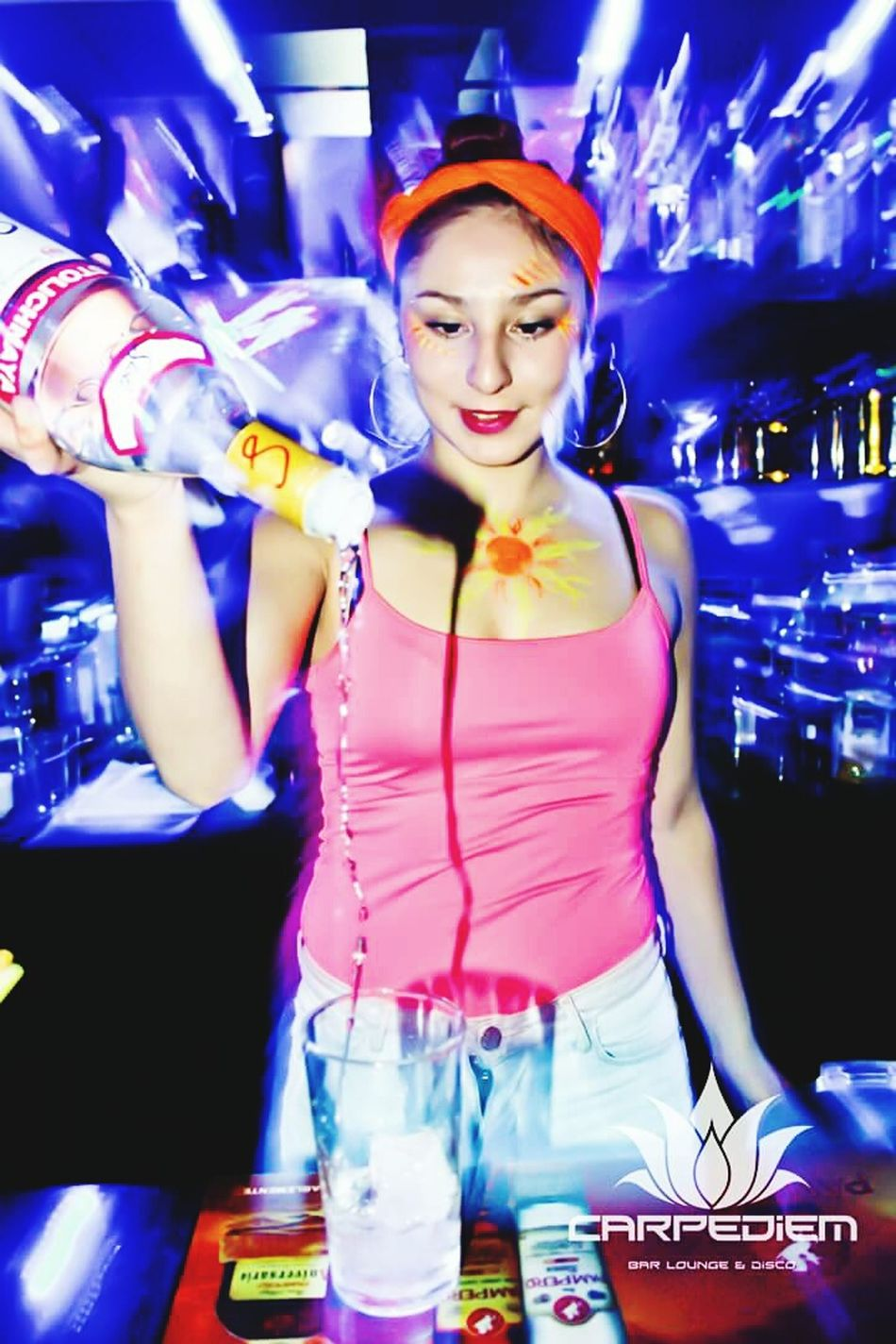 Barwoman Style Fluorescent Colors Colors First Eyeem Photo