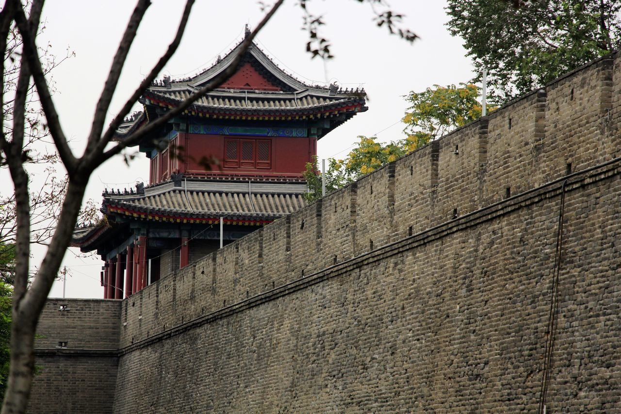 WanPing Architecture Beauty Of China BEIJING北京CHINA中国BEAUTY Branch Building Exterior Built Structure Historic Historical Sights Oriental Style Of China Tower Tradition Traditional Building Wall Wall - Building Feature