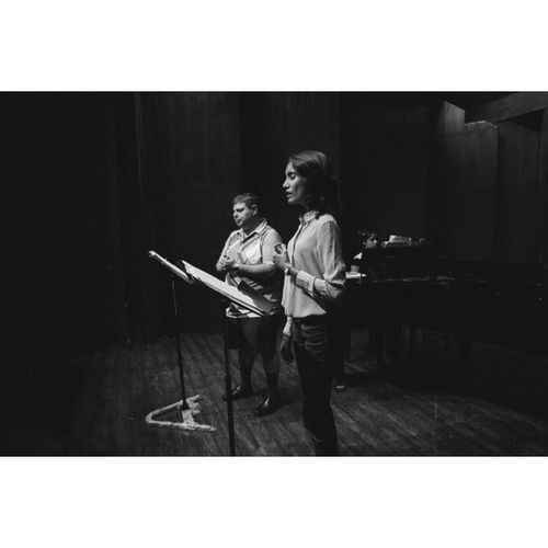 The Duet with Soprano @fayemonteiro and Baritone  Joseph Gomes with Pianist Nadine Crasto Rehearsal for a Westernclassical Concert at the Littletheatre at the the NCPA Mumbai Fujifilm Fuji Xe1