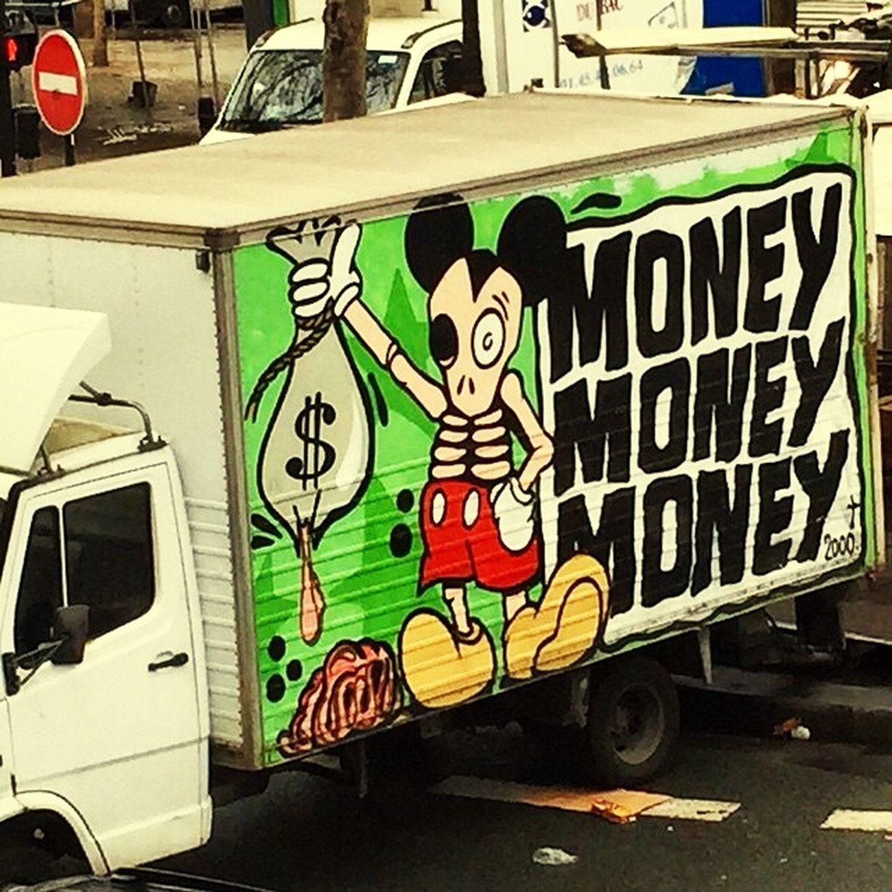 Graffiti Truck Money