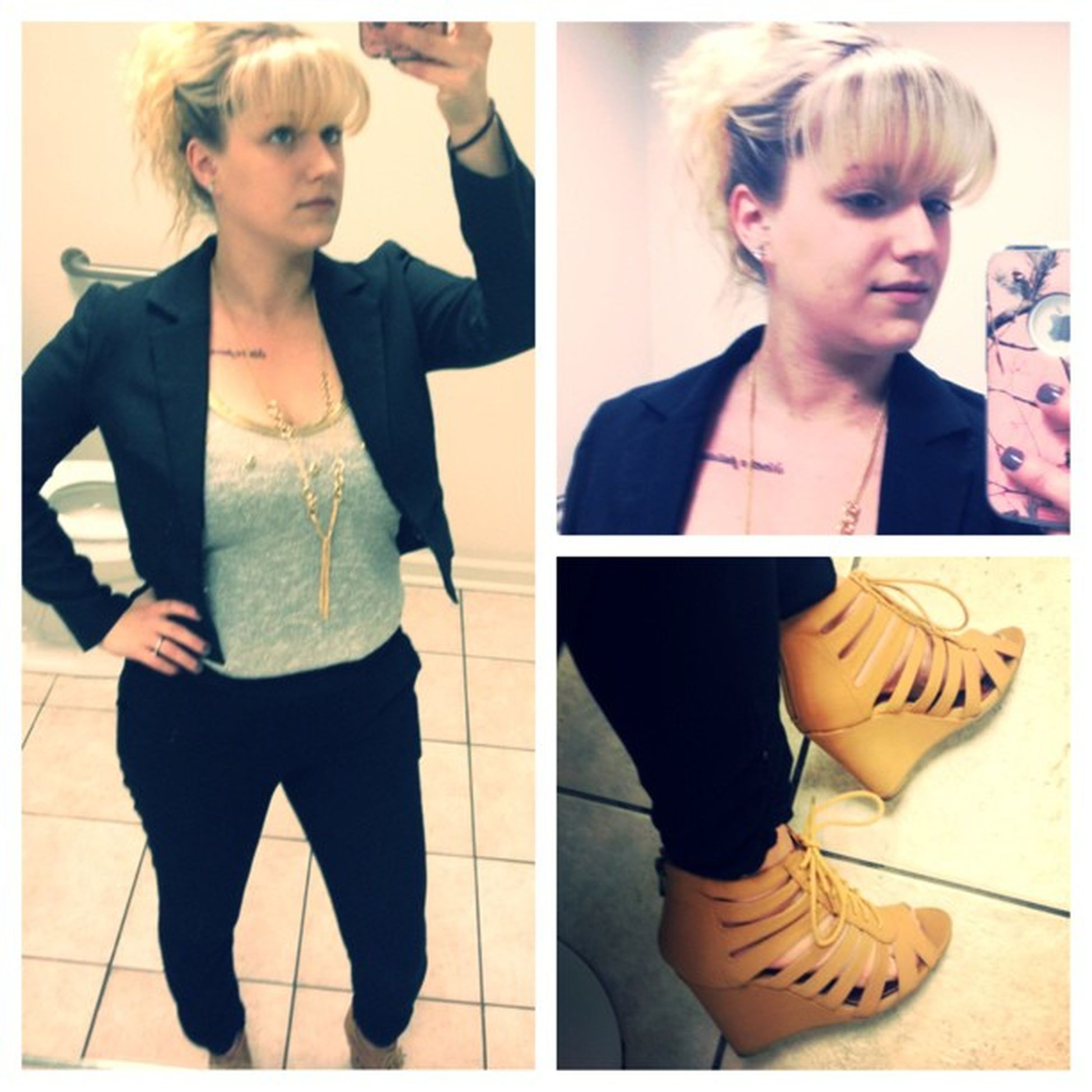 Picstitch  Today's outfit BarIII Newyork &Co Wetseal Mandee