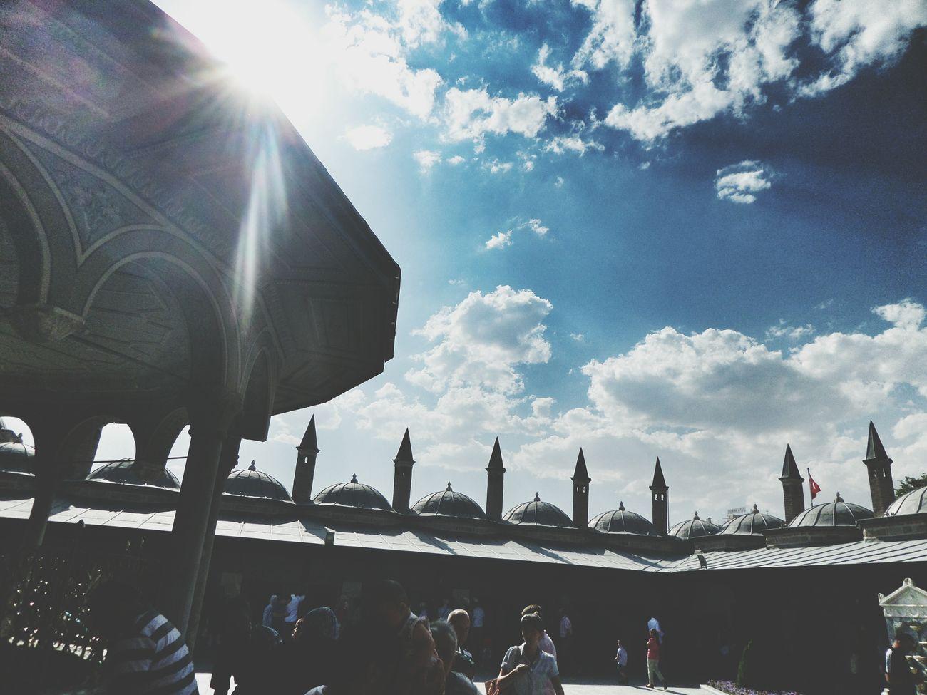 Konya Mevlana Mosque Mevlana Türbesi EyeEm Best Shots Minaret Vscocam PhonePhotography VSCO Square Landscape