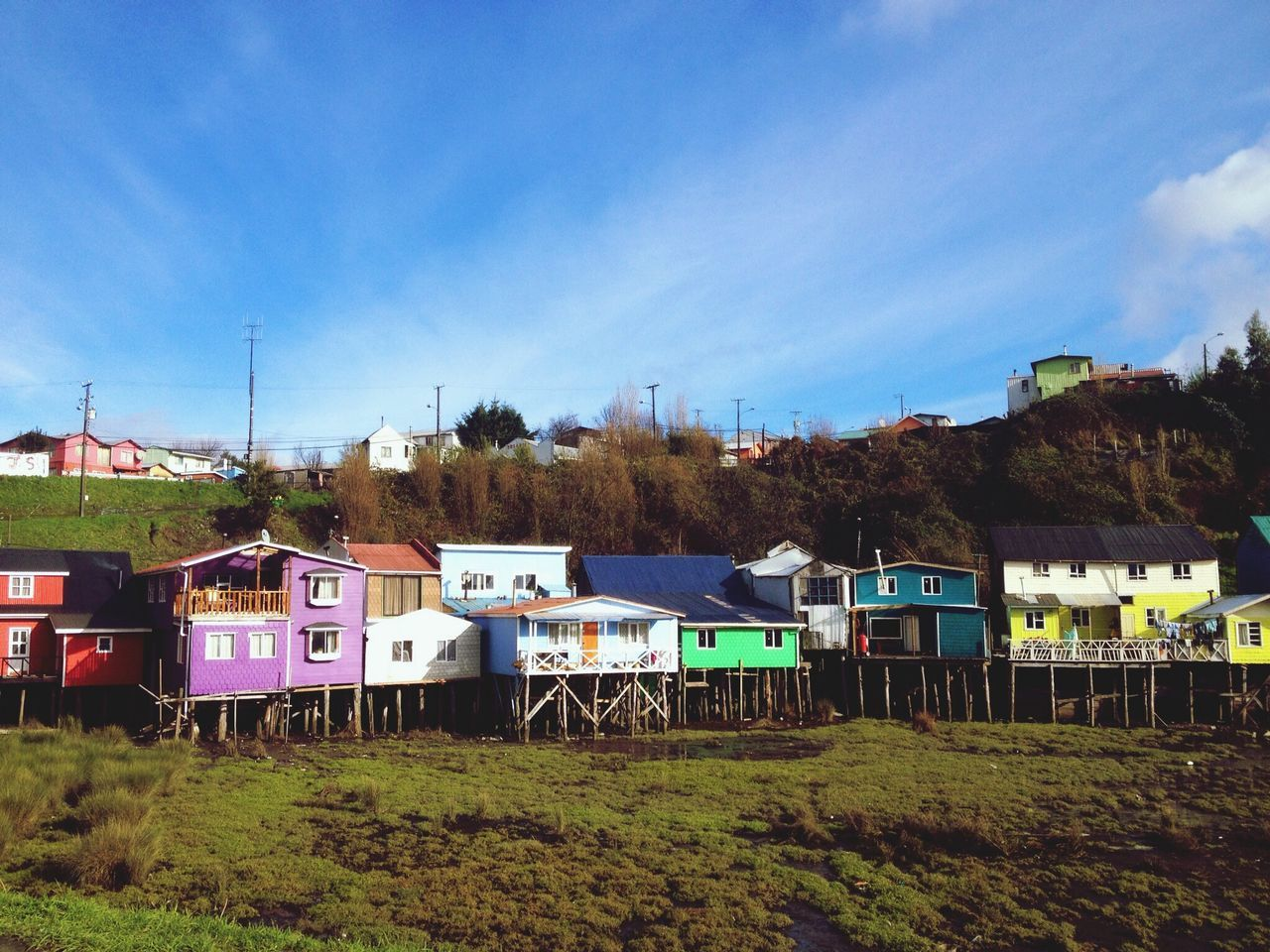 A magic place, chiloe. When the night comes, the water comes and rize up. All those sticks are under the water in the night Check This Out Nature Art Taking Photosaking Photos aking Photos