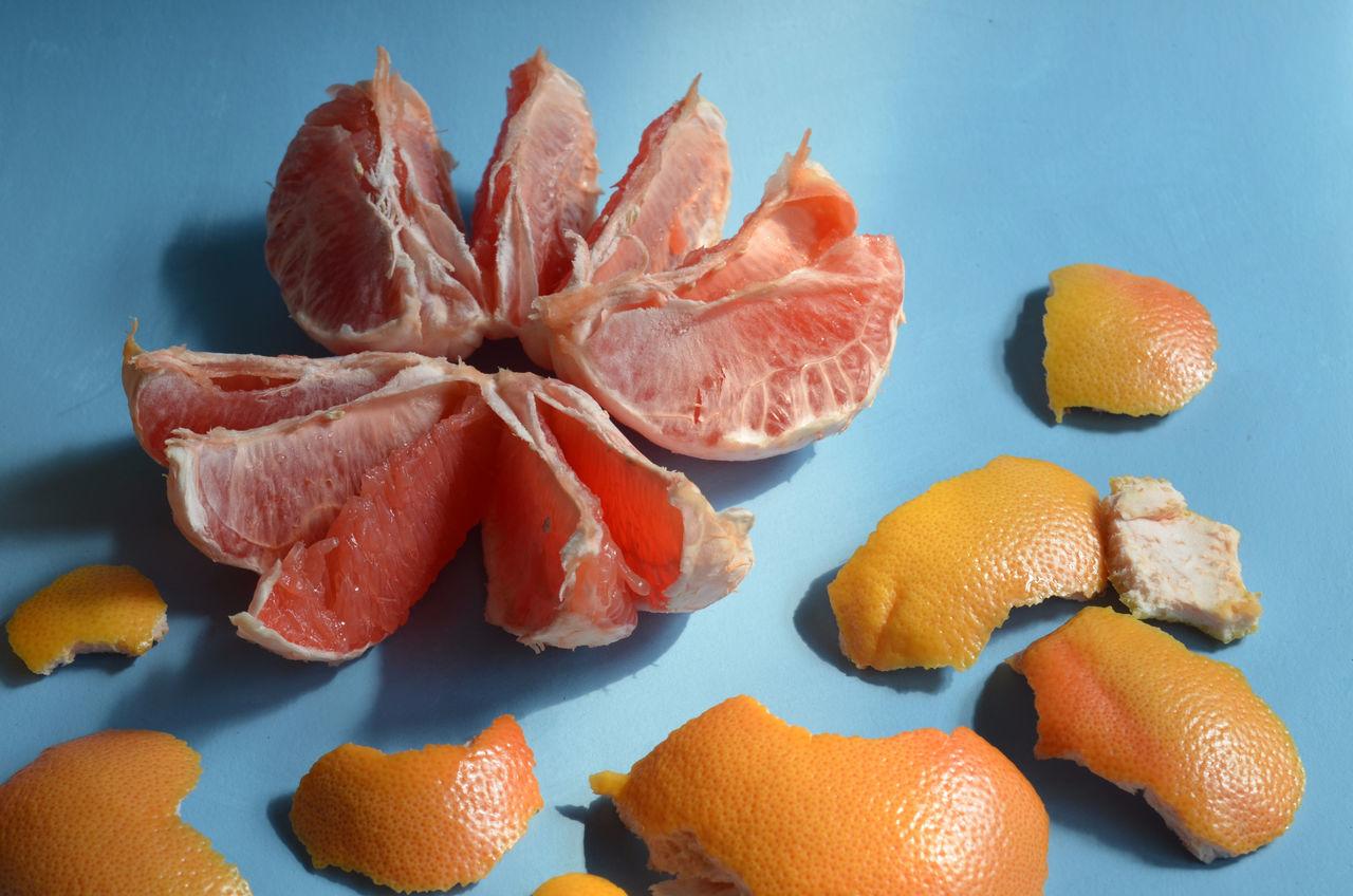 peeled red grapefruit Abundance Citrus Fruit Close-up Freshness Grapefruit Natural Pattern Nature No People Orange Color Organic Peel Peeled Ready To Eat Ripe Still Life