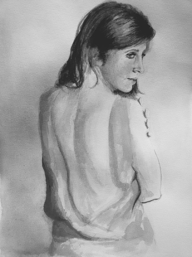 Art, Drawing, Creativity Blackandwhite Elegance Everywhere Ispirations Watercolor Sister Lovely