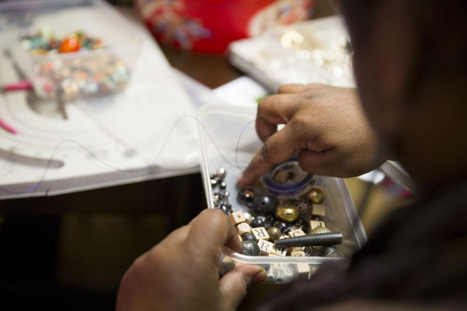Beeding Beeds Handmade Jewellery Hands At Work Jewelry Jewelrydesign Making Social