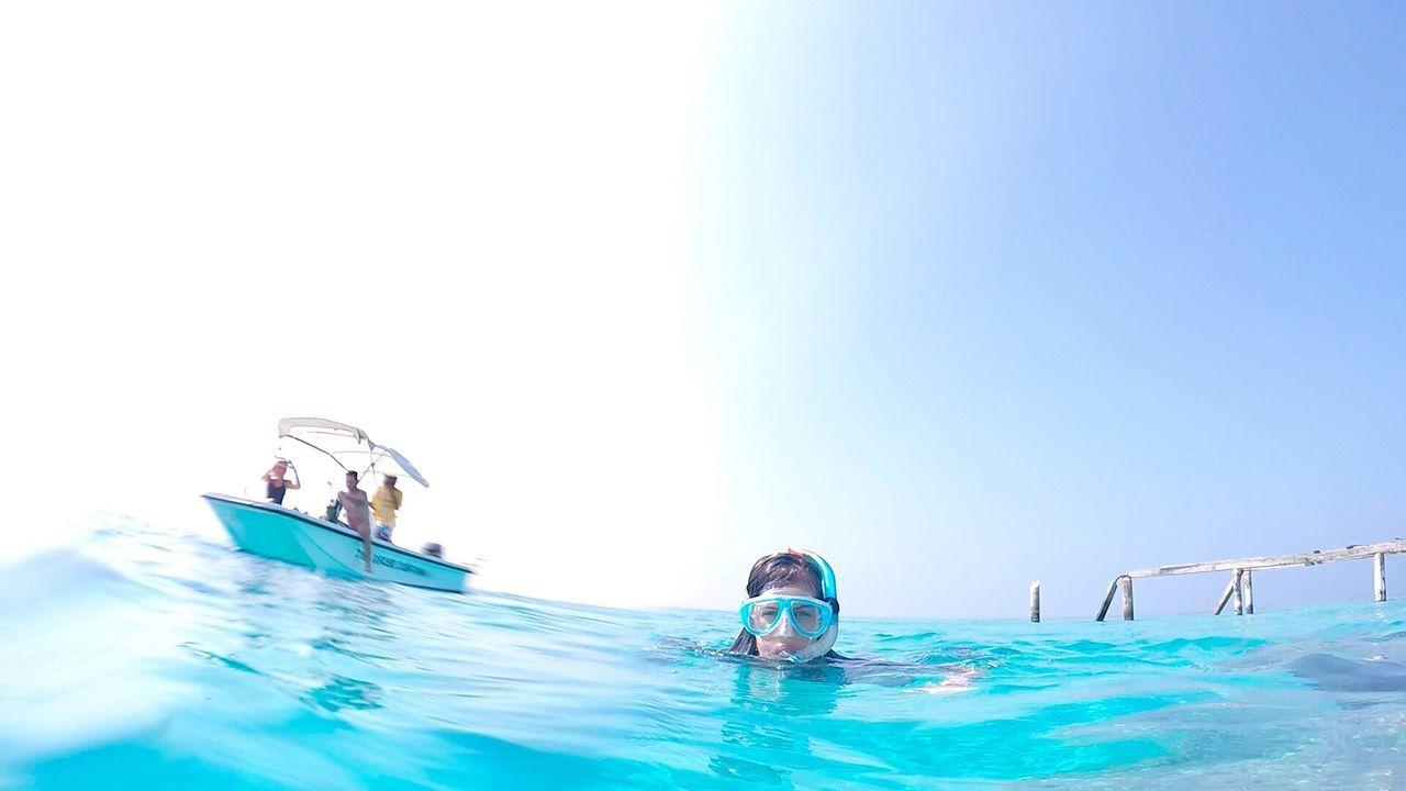 Water Blue Swimming Vacations Snorkeling Maldives