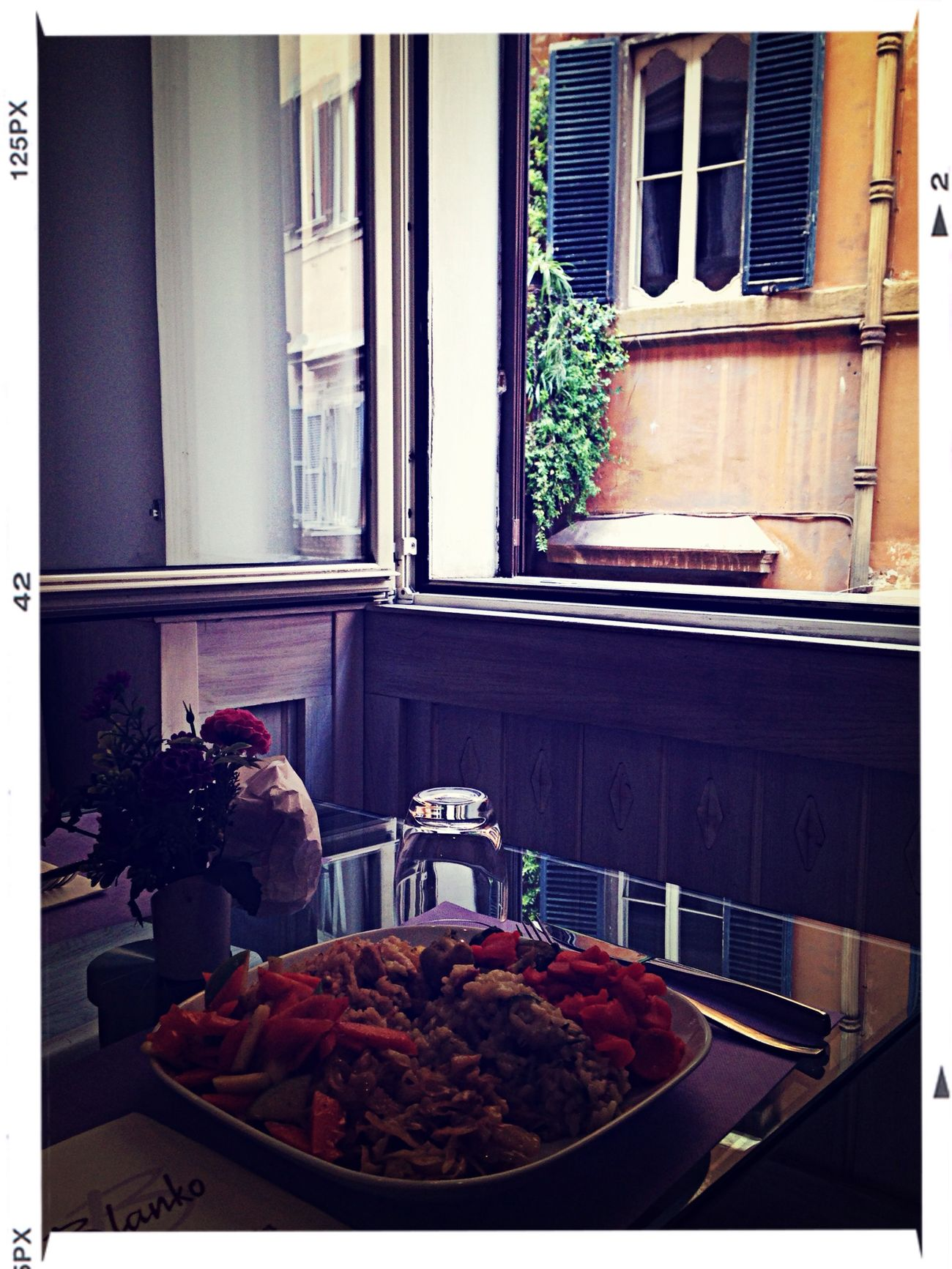 Italian Food Lunch Time! Dietfood Blankorome#