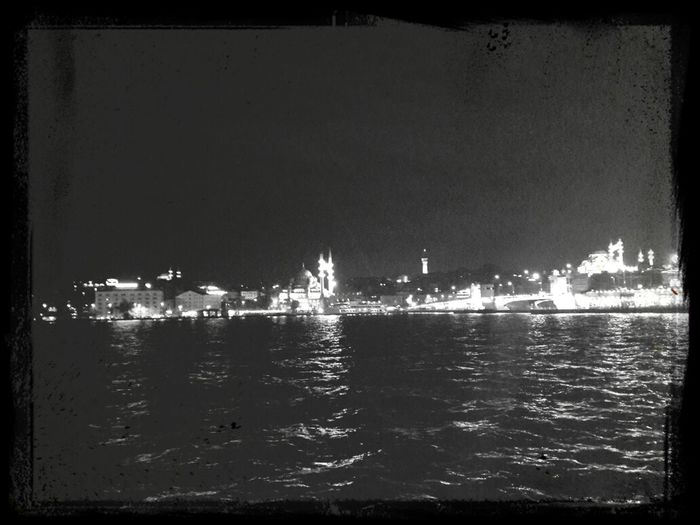 Night Sea black